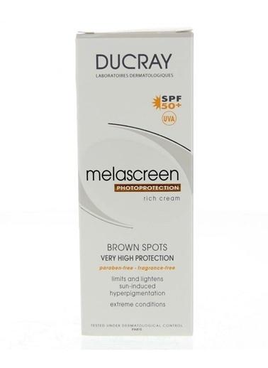 Ducray Melascreen UV SPF50 Riche Creme Kuru Cilt Bakım Kremi 40 ml Renksiz